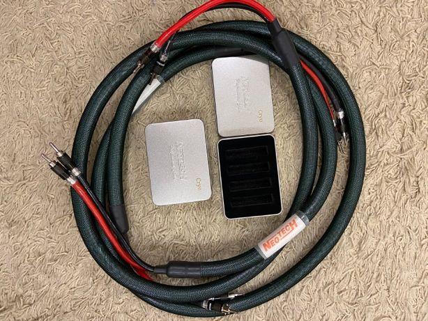 Продам акустический кабель Neotech NES-3002 speaker cable 2x2.5m