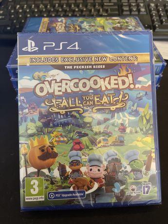OverCooked Jesz Ile Chcesz PS4 PS5 Gra Nowa