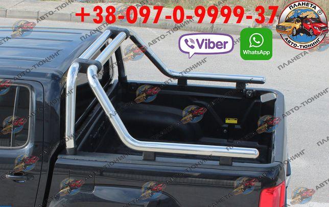 Дуги в кузов Volkswagen Amarok 2010-2021 Ролл бар обвес тюнинг