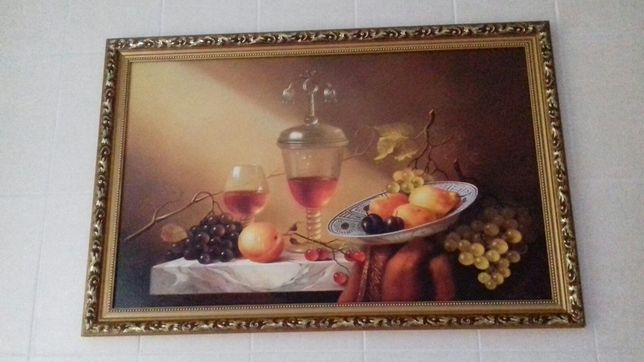 Картина с фруктами
