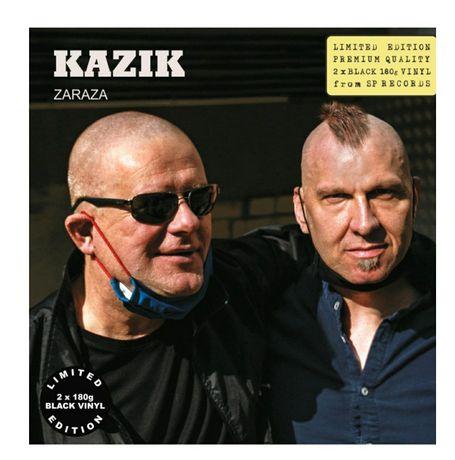 Kazik ZARAZA [2LP] LIM. ED. black vinyl