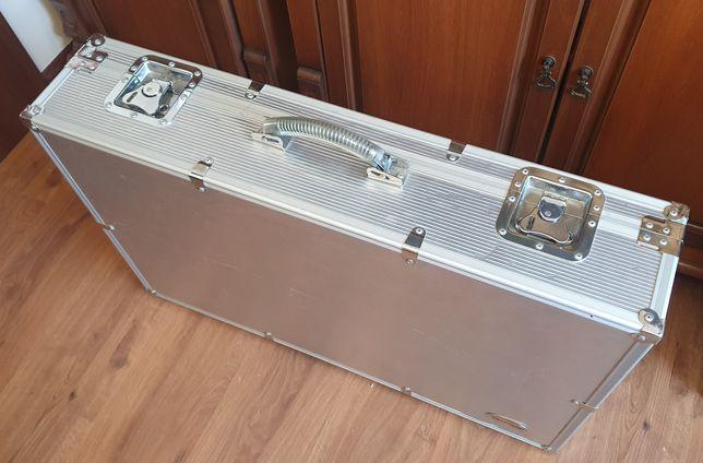 Rockcase by warwick silver case na pedalboard na efekty 80x50cm