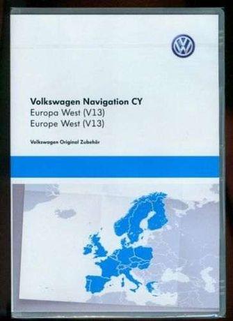 DVD / CD VW - Atualização GPS / Navegação