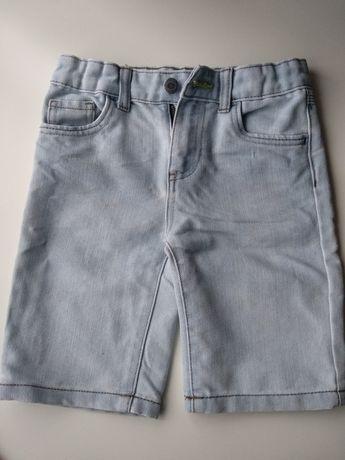 Spodenki jeansowe r. 122