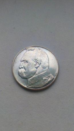 10 zł 1934 Józef Piłsudski orzeł strzelecki moneta srebro kolekcja