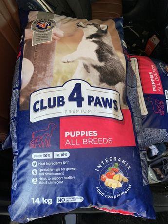Корм 14кг для щенят щенков цуценят собак до року папі