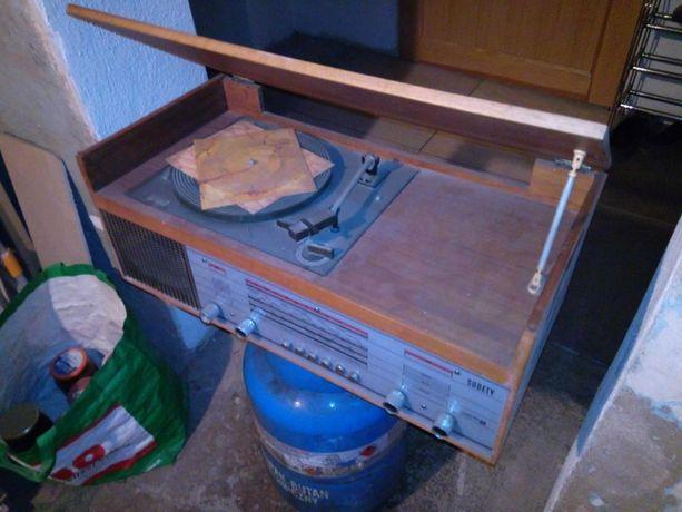 Stare radio gramofon UNITRA