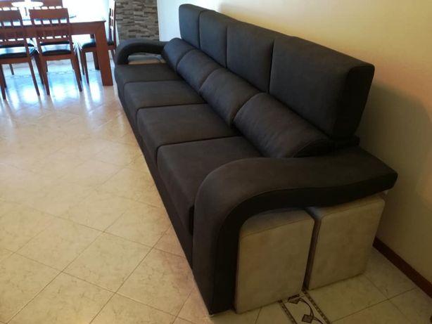 Sofá Cordoba com 340 cm, novo de fábrica