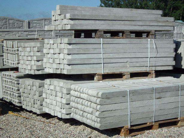 słupki betonowe 1,60m/9,50 sztuka ,do siatki ,pastucha /Augustów