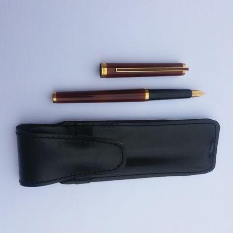 Pióro wieczne renomowanej m-ki S.T.DuPont, złota stalówka, model PARIS