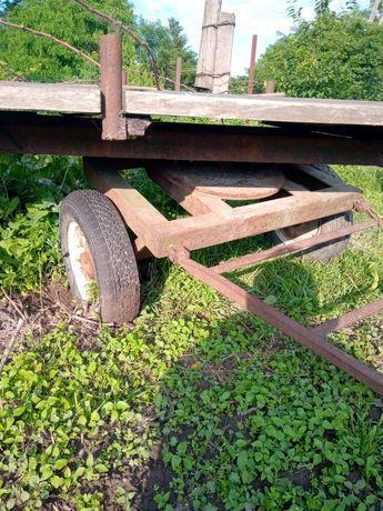 Прицеп до мотоблока або невеликого тракторця