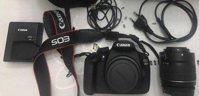 Canon EOS 1200D + Lente 18-55mm + Cartão 32gb