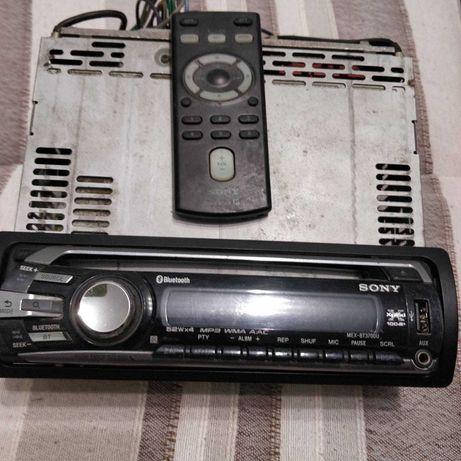 Radio car Sony com comando USB blututh