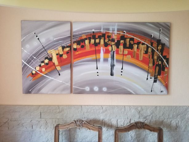 obraz nowoczesny - abstrakcja
