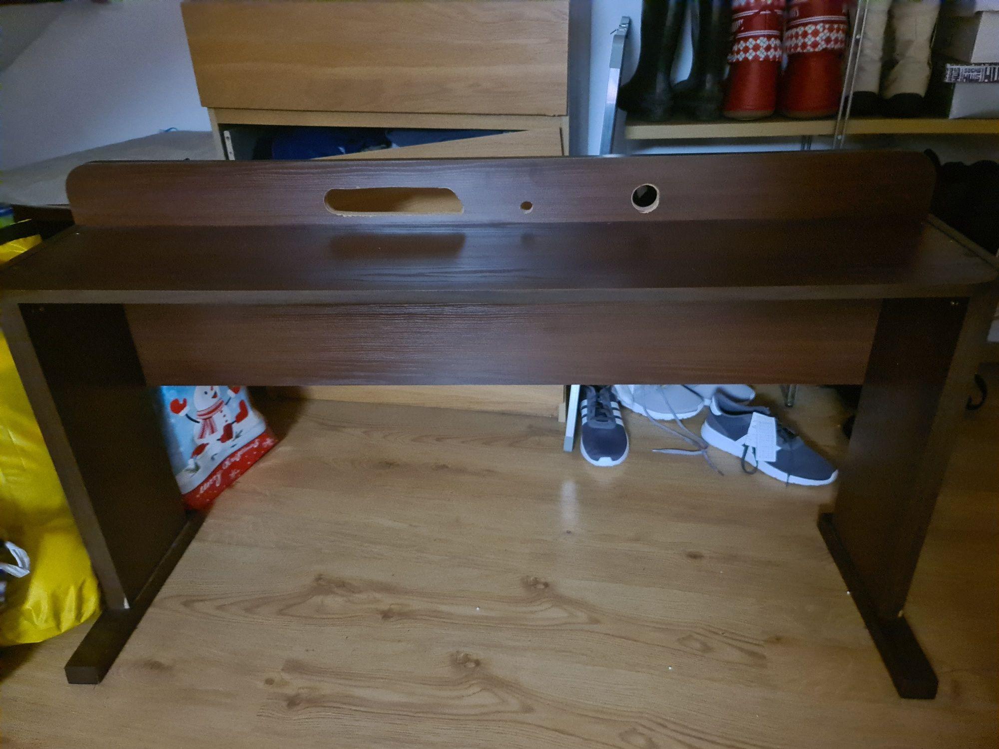 Drewniany stojak stół na keyboard