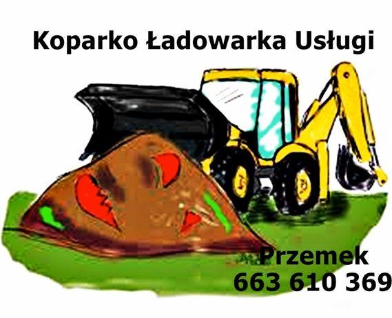 Koparko Ładowarka usługi Warszawa i okolice