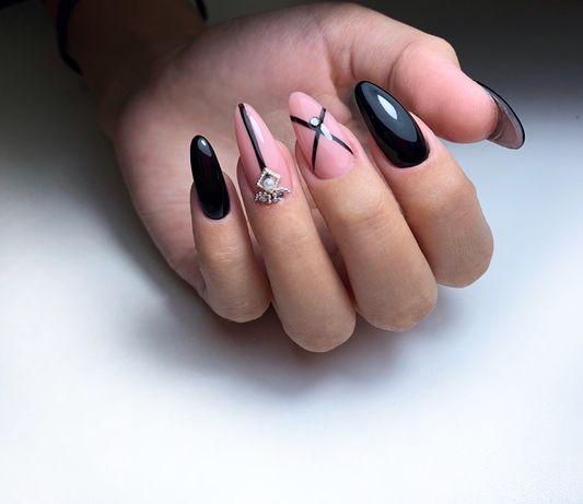 Гель лак, комбинированный маникюр/педикюр, наращивание ногтей
