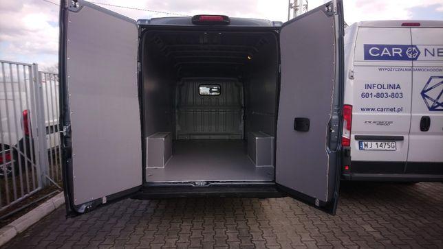 Zabudowa premium przestrzeni ładunkowej w samochodach Boxer L4H2