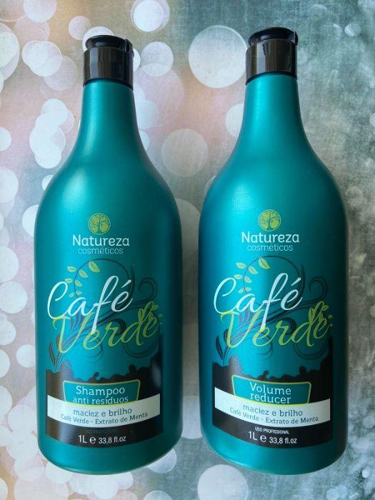 Литровый набор кератин Natureza Cafe Verde Полтава - изображение 1
