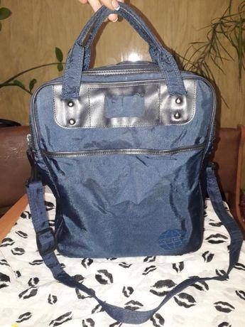 Практичная высокая сумка