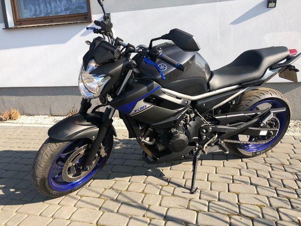 Yamaha xj6 blue race