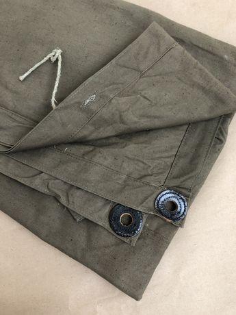 плащ-палатка с кожаными люверсами