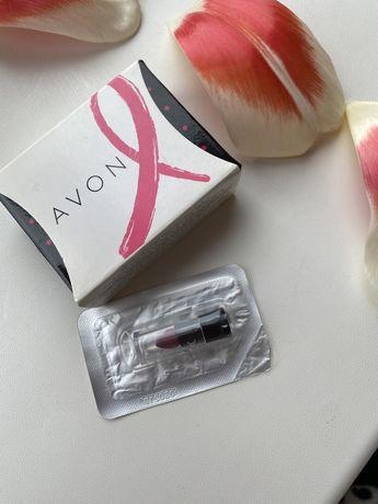 Сережки и цепочка от Avon + пробник матовой помады в подарок
