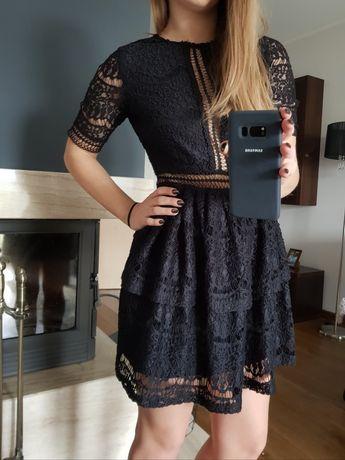 Sukienka Missguided Petite S/36 raz założona Sylwester Studniówka