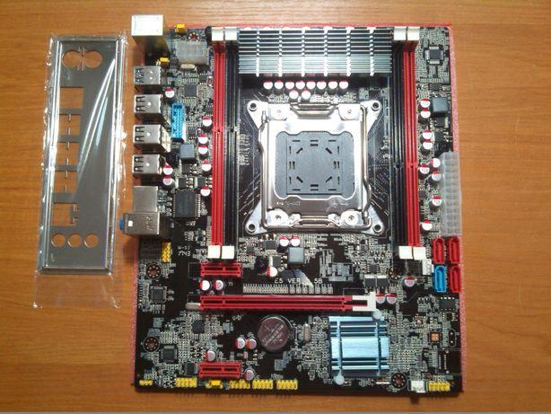 Комплект X79 3.5b xeon e5 2650v2 8 ядер и 16 потоков 32 гб ddr 3