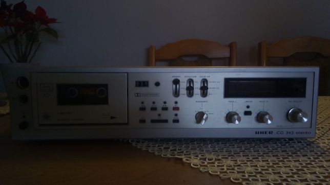 Deck Uher cg 343 Stereo