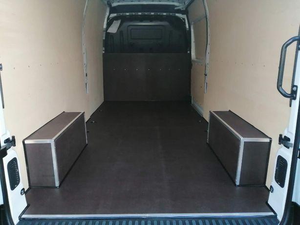 Zabezpieczenie podłogi, boków i drzwi w aucie Opel Movano L3H2