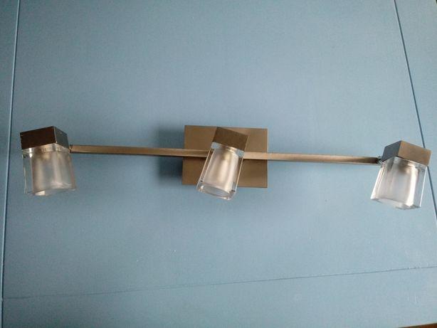 Do sprzedania lampa sufitowa 3 punktowa chrom