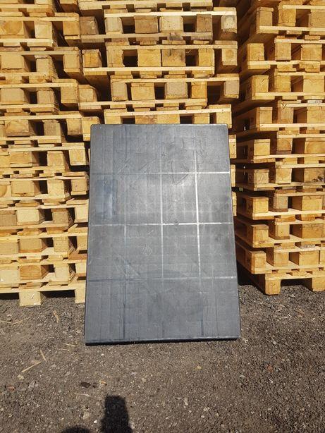 Palety plastikowe pełne 120x80 cm - pełna