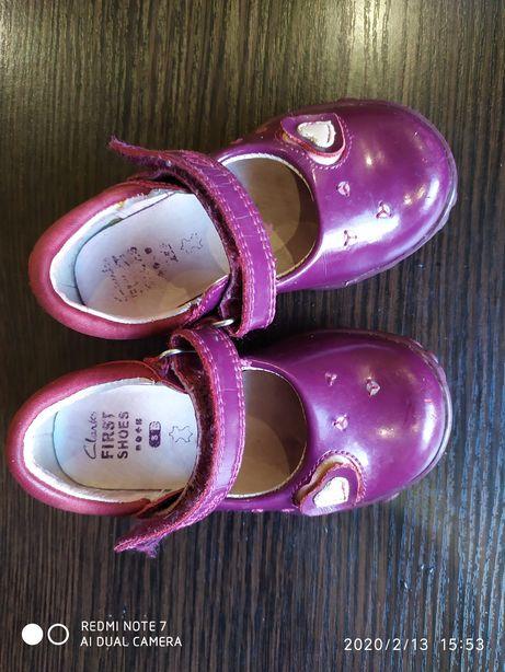 Туфли туфельки Clarks