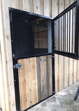 Drzwi do stajni garażu typu angielskiego Boksy dla koni
