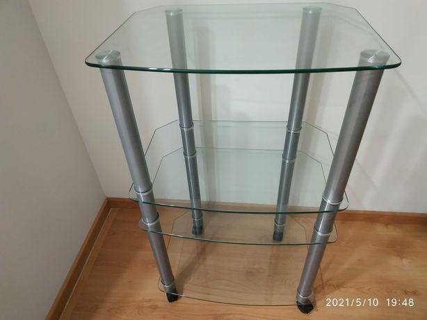 móvel TV vidro com 4 divisões