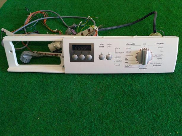 Panel sterujący do pralki Bosch Classixx 5 z okablowaniem