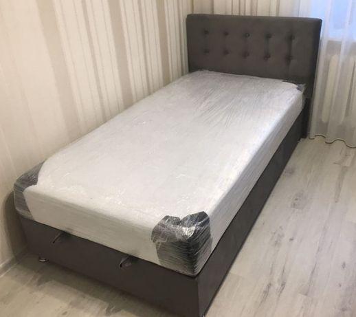 Лiжко.Кровать с функцией хранения.Children.Каретная стяжка.
