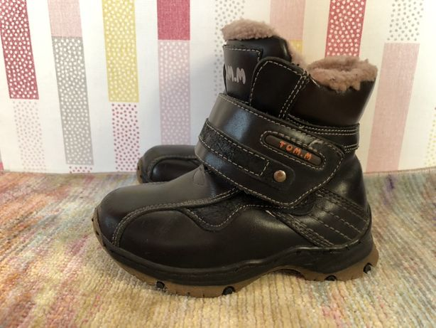 Зимние ботинки на мальчика ТОМ. М 26 р размер