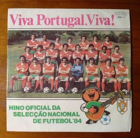 Disco de vinil da seleção nacional Mundial 82