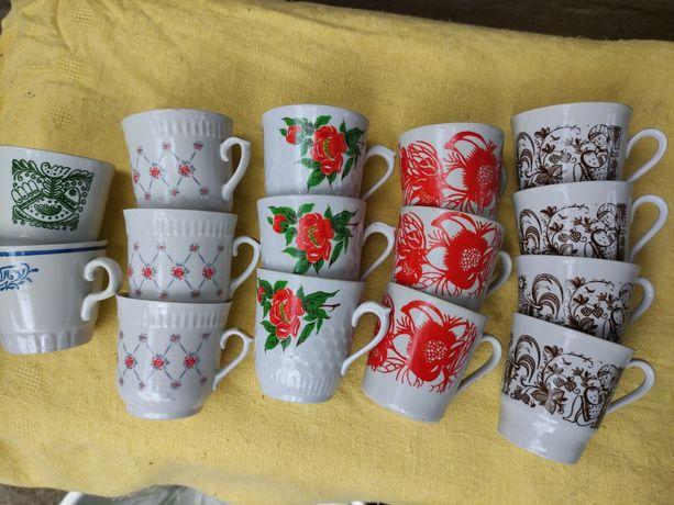 Чашки фарфоровые производство ссср