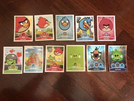 Cromos/ Cartas Angry Birds COM PORTES