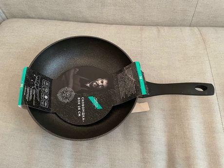 Новая Вок сковорода 28 см (wok сковородка) Marco Cervetti