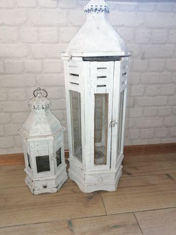 Lampiony drewniane