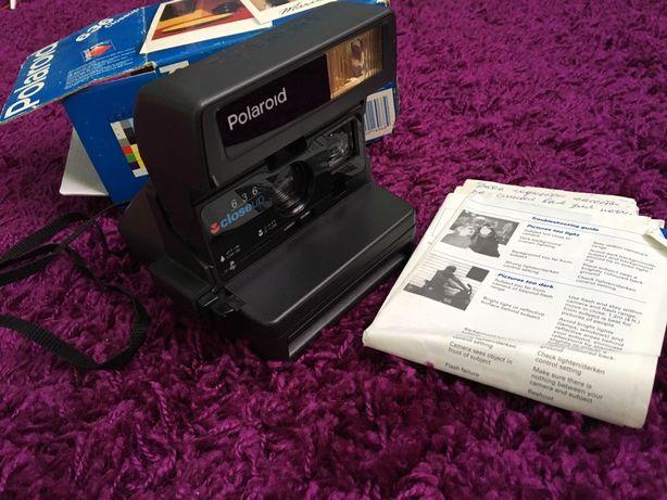 Фотоаппарат Polaroid 636, настоящее ретро