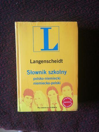 Słownik Langenscheidt polsko-niemiecki niemiecko-polski