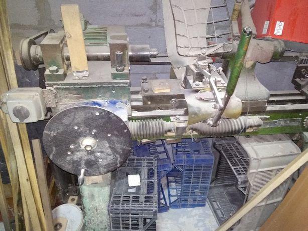 Tokarka, kopiarka do drewna z oprzyrządowaniem do produkcji żyrandoli