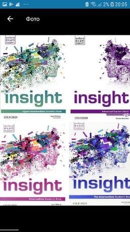 Друк книг (Insight, Gateway,English plus, Eyes open, First friend)