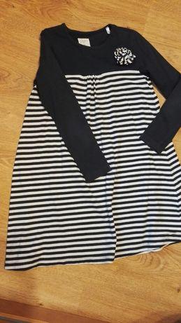 Sukienka z długim rękawem dla dziewczynki 116