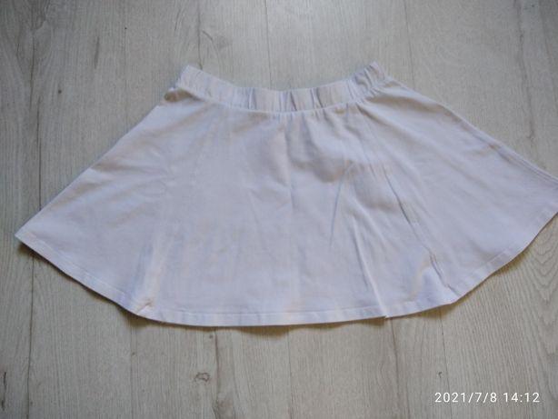 Белая базовая юбка H&M